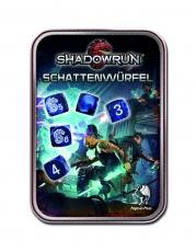 Shadowrun Würfelset (blau)