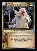 0P26 Gandalf, Defender of the West