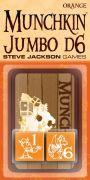 Munchkin Würfel: Jumbo D6 (orange)
